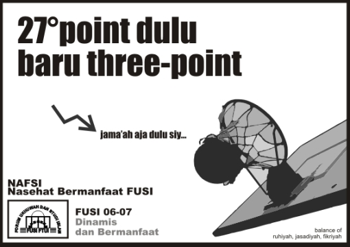 27 point dulu baru three point